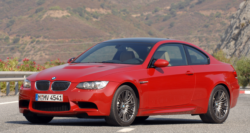 BMW M3 E90-92 Rouge avant