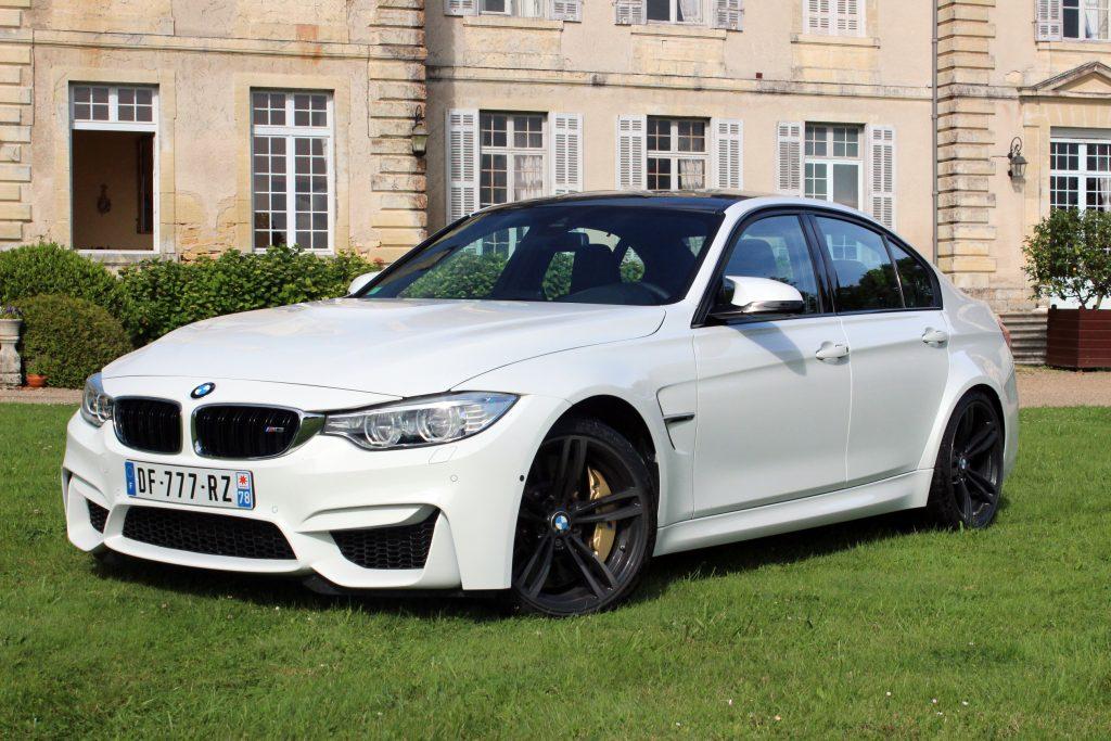 BMW M3 F80 blanche