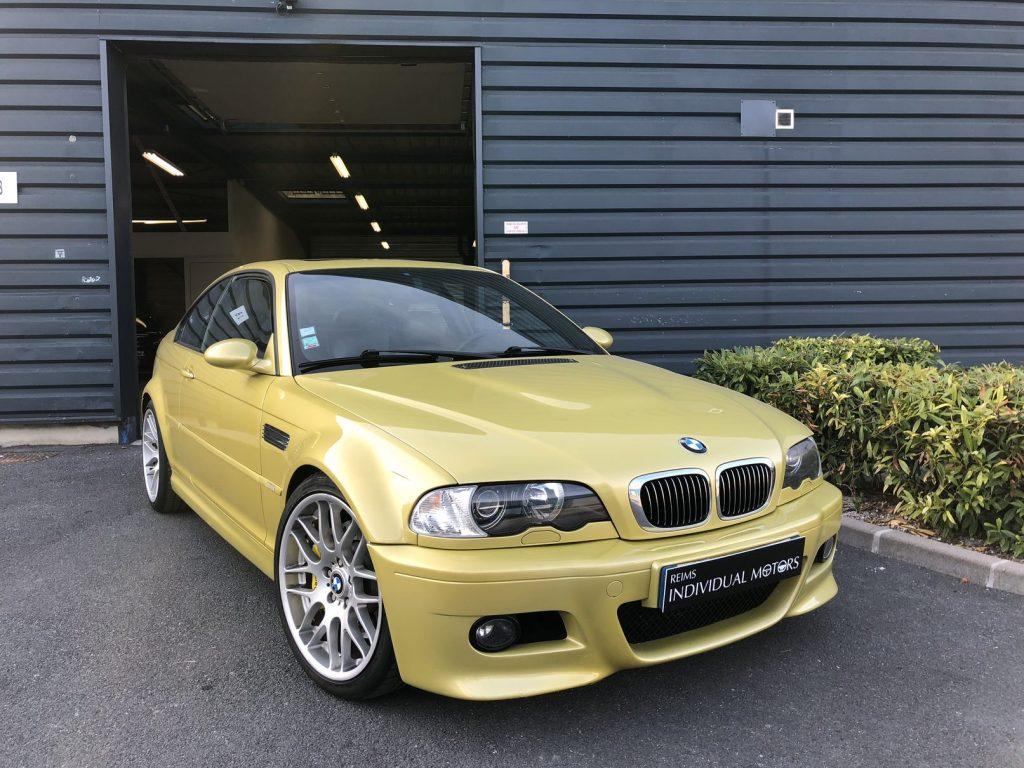 bmw m3 e46 jaune